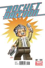 Rocket Raccoon (2014-2015) #1 Variant C: Stan Lee Lego Cover