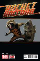 Rocket Raccoon (2014-2015) #1 Variant E: Movie Cover