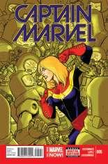 Captain Marvel (2014-2016) #5 Variant A