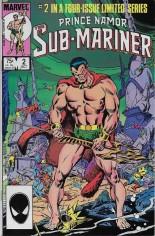 Prince Namor, the Sub-Mariner (1984) #2 Variant B: Direct Edition