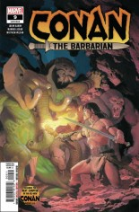 Conan The Barbarian (2019-2021) #9 Variant A