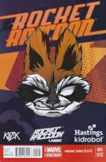 Rocket Raccoon (2014-2015) #1 Variant G: Hastings/Kid Robot Exclusive