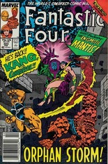 Fantastic Four (1961-1996) #323 Variant A: Newsstand Edition