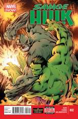 Savage Hulk (2014-2015) #2 Variant A