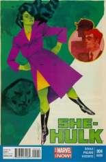 She-Hulk (2014-2015) #4 Variant B: 2nd Printing