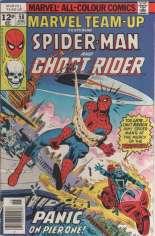 Marvel Team-Up (1972-1985) #58 Variant D: UK Edition