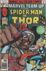 Marvel Team-Up (1972-1985) #70 Variant B: UK Edition