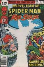 Marvel Team-Up (1972-1985) #79 Variant B: UK Edition