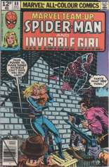 Marvel Team-Up (1972-1985) #88 Variant C: UK Edition