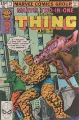 Marvel Two-In-One (1974-1983) #70 Variant C: UK Edition