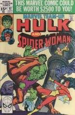 Marvel Team-Up (1972-1985) #97 Variant C: UK Edition
