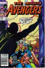 Avengers (1963-1996) #242 Variant A: Newsstand Edition