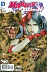 Harley Quinn (2013-2016)  #8 Variant B: Incentive Cover