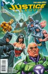 Justice League (2011-2016) #32 Variant B: Incentive Cover