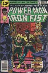 Power Man and Iron Fist (1978-1986) #56 Variant B: UK Edition