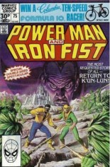 Power Man and Iron Fist (1978-1986) #75 Variant C: UK Edition
