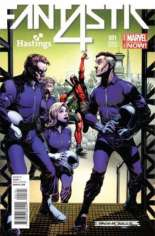 Fantastic Four (2014-2015) #1 Variant H: Hastings Exclusive