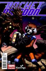 Rocket Raccoon (2014-2015) #1 Variant L: Hastings Exclusive Interlocking Cover