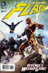 Flash (2011-2016) #34 Variant A