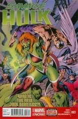 Savage Hulk (2014-2015) #3 Variant A
