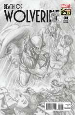 Death of Wolverine (2014) #1 Variant C: 75th Anniversary Sketch Cover