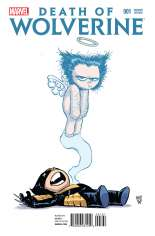 Death of Wolverine (2014) #1 Variant F: Baby Cover