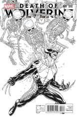 Death of Wolverine (2014) #1 Variant I: Sketch Cover