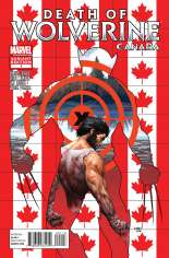 Death of Wolverine (2014) #1 Variant J: Canada Cover