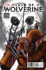 Death of Wolverine (2014) #1 Variant P: Salt Lake Comic Con Exclusive