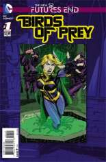 Birds of Prey: Futures End (2014) #1 Variant B: Standard Cover