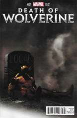 Death of Wolverine (2014) #1 Variant O: Marvel Exchange Exclusive Mortal Cover