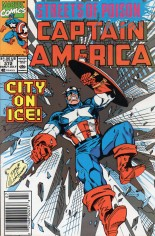 Captain America (1968-1996) #372 Variant A: Newsstand Edition