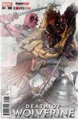 Death of Wolverine (2014) #1 Variant N: GameStop Exclusive Fade Cover