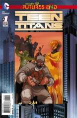 Teen Titans: Futures End (2014) #1 Variant B: Standard Cover