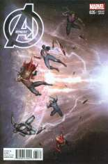 Avengers (2012-2015) #35 Variant B: Incentive Cover