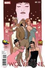 Death of Wolverine (2014) #1 Variant T: M&M Comic Service/Alamo City Comic Con Exclusive