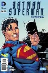 Batman/Superman (2013-2016) #14 Variant C: DC Universe Selfie Cover