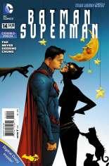 Batman/Superman (2013-2016) #14 Variant D: Combo Pack; Polybagged