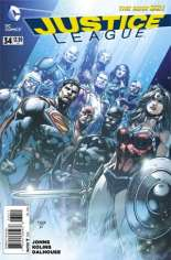 Justice League (2011-2016) #34 Variant A