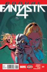 Fantastic Four (2014-2015) #Annual 1 Variant A
