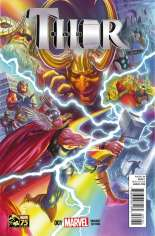 Thor (2014-2015) #1 Variant C: 1:75 75th Anniversary Cover