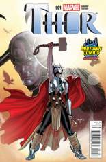 Thor (2014-2015) #1 Variant J: Midtown Comics Exclusive