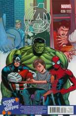 Avengers (2012-2015) #36 Variant D: Stomp Out Bullying Cover