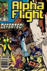 Alpha Flight (1983-1994) #26 Variant A: Newsstand Edition