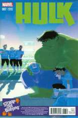 Hulk (2014-2015) #7 Variant D: Stomp Out Bullying Cover