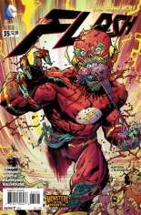 Flash (2011-2016) #35 Variant B: DC Monsters Cover