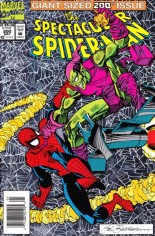 Spectacular Spider-Man (1976-1998) #200 Variant A: Newsstand Edition; Holographix Foil Cover