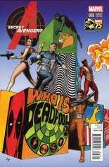 Secret Avengers (2014-2015) #9 Variant B: Deadpool Photobomb Cover