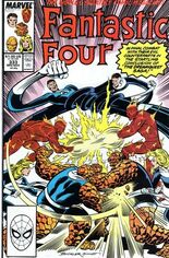 Fantastic Four (1961-1996) #333 Variant B: Direct Edition