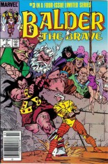 Balder the Brave (1985-1986) #3 Variant A: Newsstand Edition